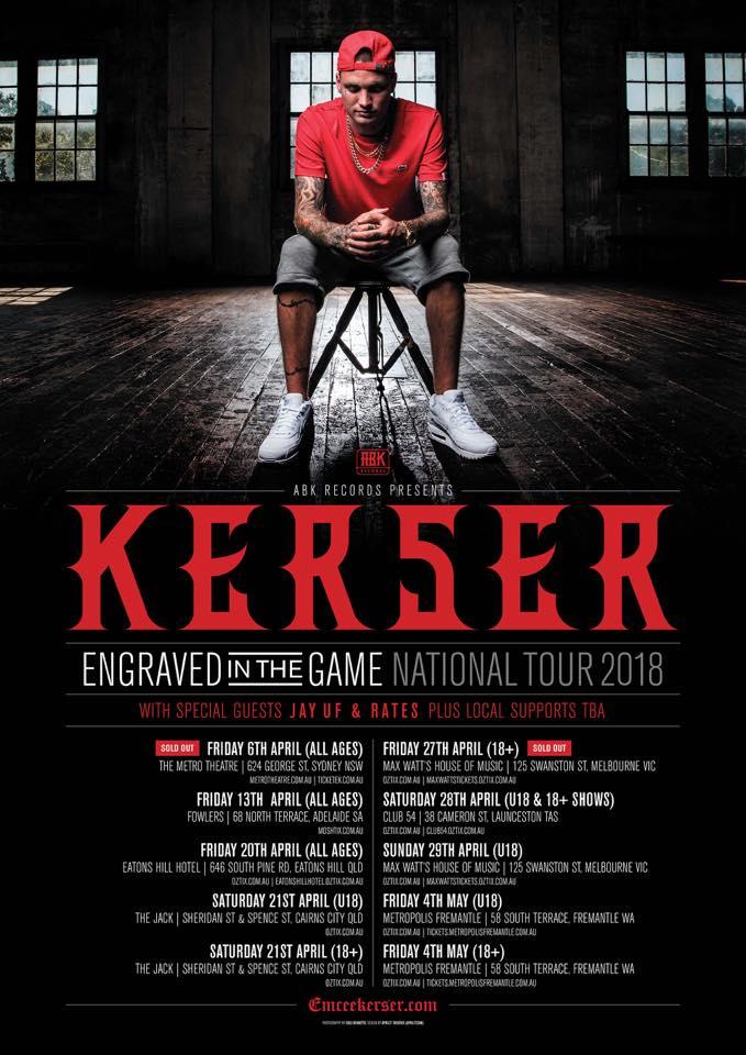 KERSER TOUR