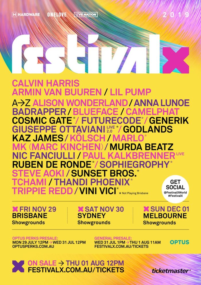 Festival X Flyer